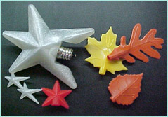 Silicone Decorative Light Pop-Ons